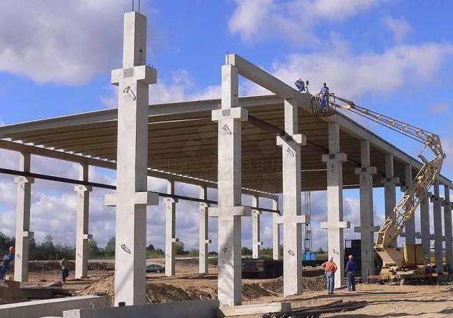 ЖБИ колонны и укрепления для зданий